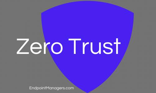 Zero Trust defined